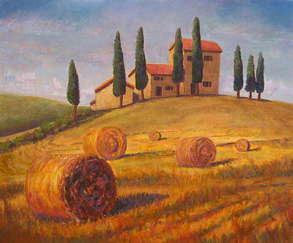 Tuscan Bales by Robie Benve