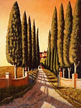 Tuscan retreat by Santo De Vita