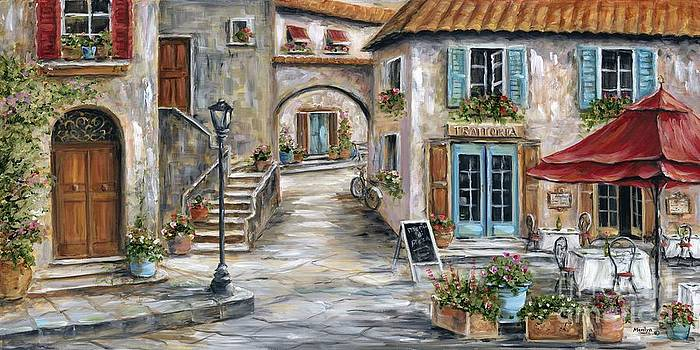 Tuscan Street Scene by Marilyn Dunlap