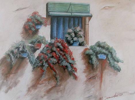 Tuscan Window Box by Melinda Saminski