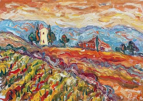 Tuscany 17 by Borislav Djukanovic