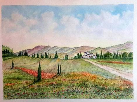 Tuscany 2 SOLD by Richard Benson