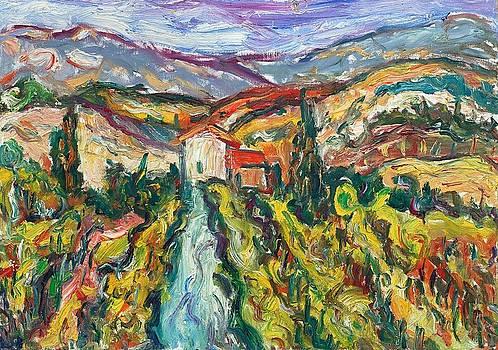 Tuscany 5  by Borislav Djukanovic