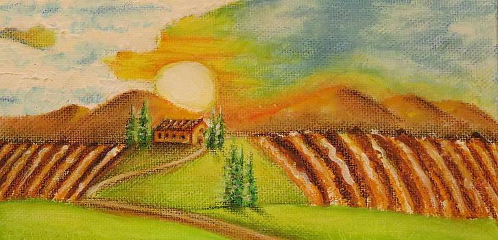 Tuscany Landscape by Paul Schoenig