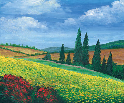 Tuscany Yellows by Harold Shull