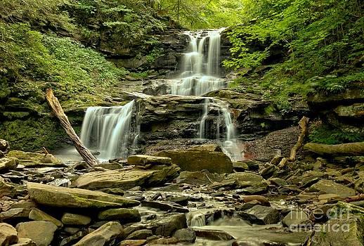 Adam Jewell - Tuskarora Falls Landscape