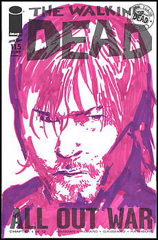 TWD 115 Sketch Variant - Daryl Dixon by Kyle Willis