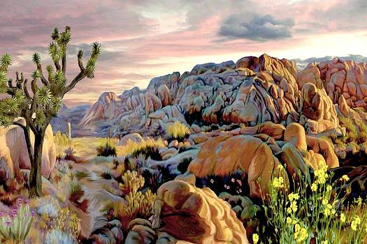 Twilight at Joshua by Ron Chambers