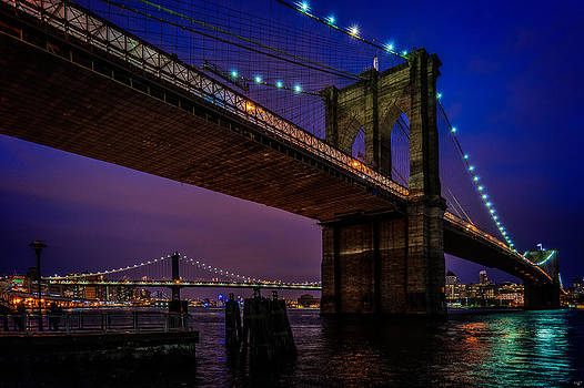 Chris Lord - Twilight At The Brooklyn Bridge