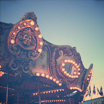 Twilight Carnival Ride by Joy StClaire