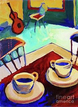 Twilight Coffee Cafe by Frederick  Luff