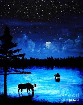 Twilight Moose by Tylir Wisdom