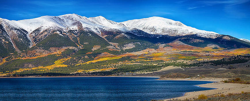 James BO  Insogna - Twin Lakes Colorado Autumn Panorama