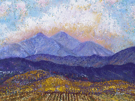 Twin Peaks above the Fruited Plain by Margaret Bobb