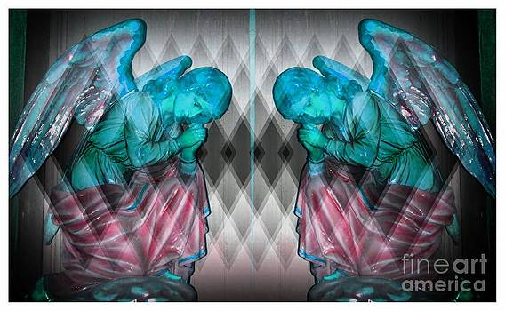 Two Angels by Kathleen Struckle