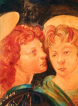 Two Angels by Michael Hogan
