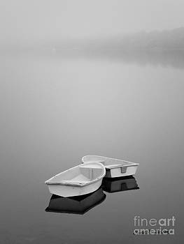 Dave Gordon - Two Boats and Fog
