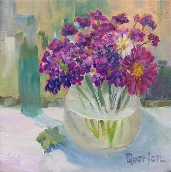 Two Daisies by Lori Quarton