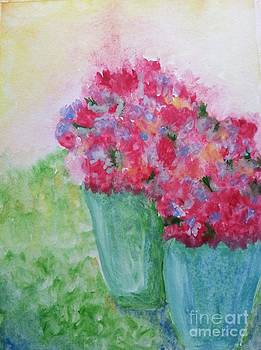 Two Flower Bouquets by Karleen Kareem