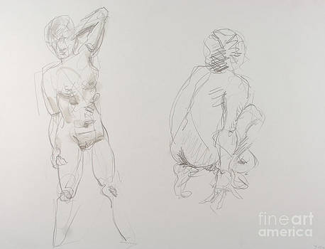 Two minute Gesture by Andy Gordon