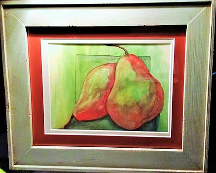 Two Pears by Dalene Turner