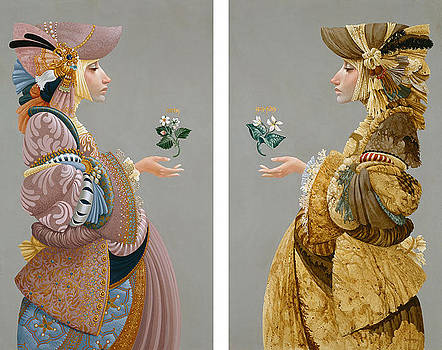 Two Sisters by James Christensen