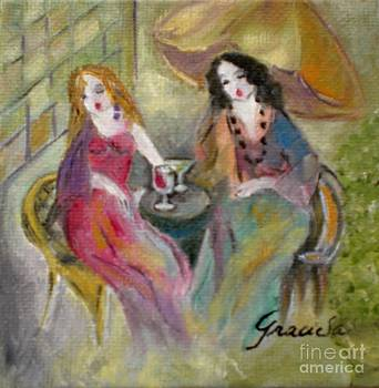 Two women by Graciela Castro
