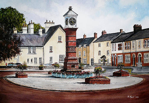 Twyn Square Usk Wales by Andrew Read