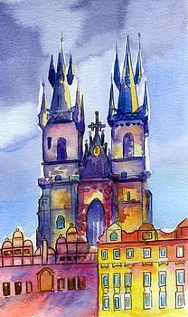 Tyn Church Prague by Lydia Irving