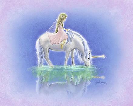 Ulani the Unicorn Elf by Amanda Francey