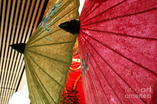Umbrellas 2 by Valerie Beasley