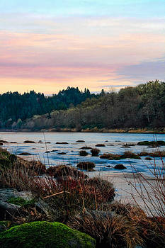 Umpqua Sunset by Pamela Winders