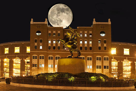 Unconquered Doak Campbell Full Moon by Frank Feliciano