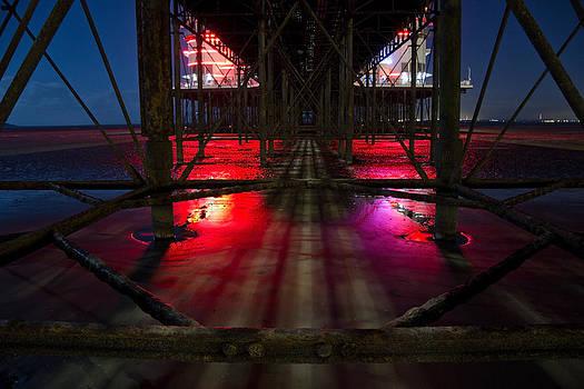 Under the pier at 2am by Stewart Granger