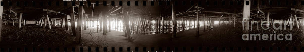 Under the Pier by Ron Smith