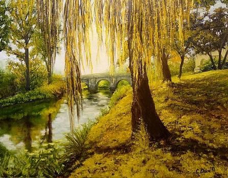 Under the willow by Svetla Dimitrova