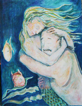 Underwater Embrace by Ellen Howell