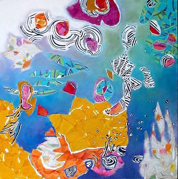 Diane Fine - Underwater Flowers