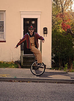 Unicycle Afternoon by La Dolce Vita