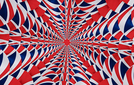 Steve Purnell - Union Flag Abstract