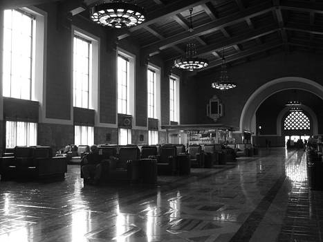 Union Station Los Angeles by Jim McCullaugh