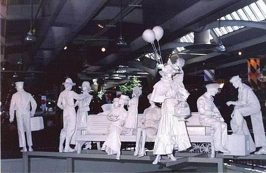 Union Station  Sculpures by Pat Mchale