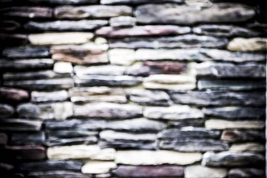 Unique Rock Wall by Courtney DeGregorio