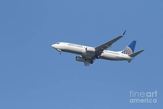 Wingsdomain Art and Photography - United Airlines Jet 7D21942