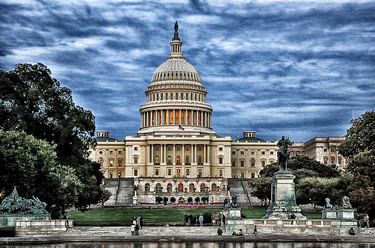 United States Capitol at Dusk by Boyd Alexander