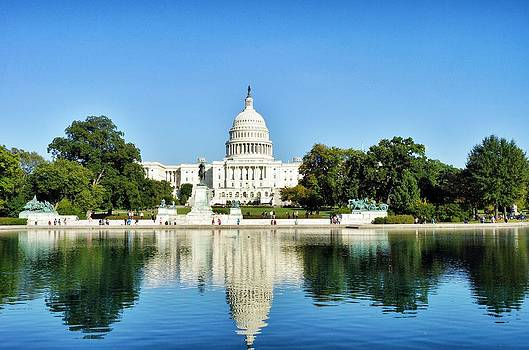 United States Capitol Building by Jean Goodwin Brooks