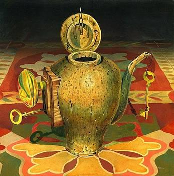 Unlocking Teapot by Zia Art