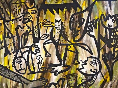 Unschooled  Picasso by Esther Wilhelm Pridgen