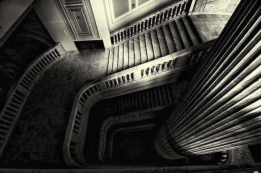 Up stairs by Julien Oncete