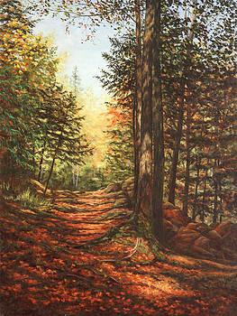 Uphill Path by Elaine Farmer